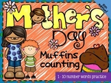 FREE Mother's Day Muffins Counting MINI BOOK 2
