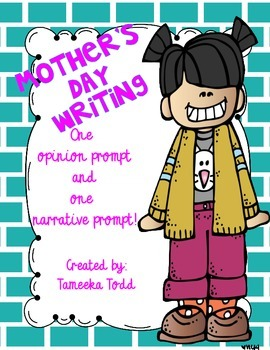 FREE Mother's Day Writing