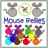 FREE! Mouse Bellies Clip Art Set