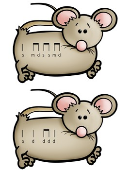 FREE Mouse Mousie Song Sort Cards {Practice Melody: Do}