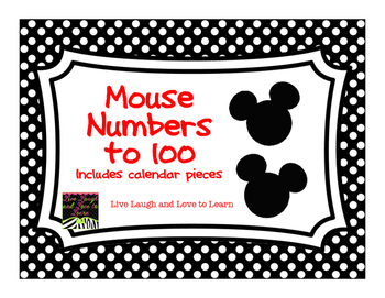 FREE Mouse Numbers to 100