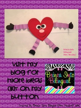 FREE Mr. Heart Valentine's Craft
