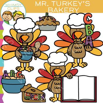 FREE - Mr. Turkey's Bakery Clip Art