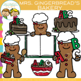 FREE Mrs. Gingerbread's Bakery Clip Art