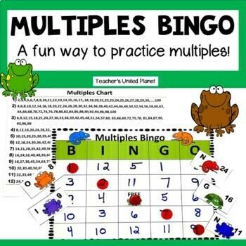 FREE Multiples Bingo!