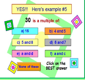 FREE Multiples PowerPoint Fun Quiz PREVIEW