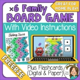 FREE Multiplication Board Game & Video Directions x6  Grea