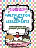 FREE Multiplication Fact Tests