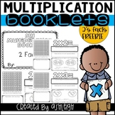FREE Multiplication Facts Booklet for 2 Facts