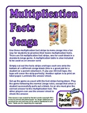 Multiplication Facts Jenga