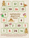 FREE Multiplication Gingerbread Bump