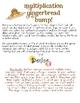 FREE Multiplication Gingerbread Bump