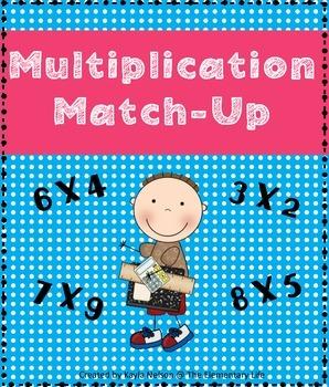 FREE Multiplication Match Center