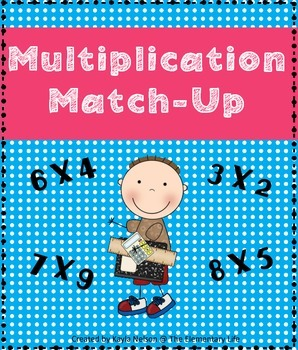 FREE Multiplication Match Center