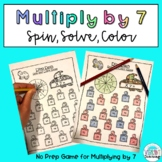 FREE Multiplication Math Game: Multiply by 7