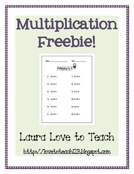 FREE Multiplication Practice