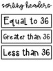 FREE Multiplication Solve and Sort It CENTER