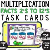 Multiplication  Task Cards (24 task cards)