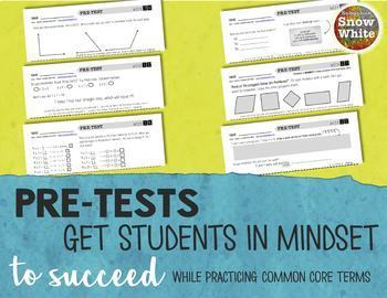 Multiplication Facts Tests Quizzes for Growth Mindset: {FIRST 3 WEEKS: Freebie!}