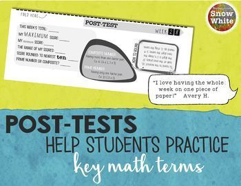 Multiplication Facts Tests Quizzes for Growth Mindset | Twelves 12s {Freebie!}