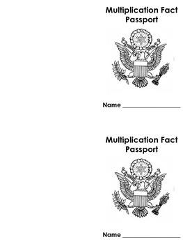FREE Multiplication Timed Test World Passport Program Sampler (Common Core)