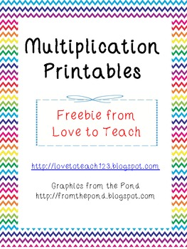 FREE Multiplication Worksheets by Laura Love to Teach | Teachers ...