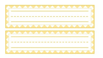 FREE - Multipurpose Name Tags, Schedule Strips and Labels