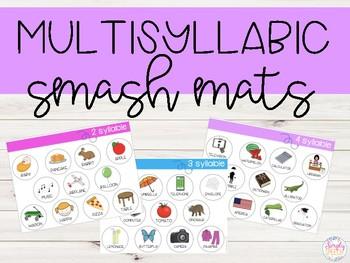 FREE Multisyllabic Words Smash Mats!