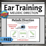 FREE Elementary Music Boom Cards | Ear Training - Melodic