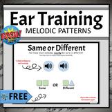 FREE Elementary Music Boom Cards | Ear Training Same Diffe