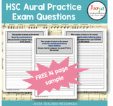 FREE - Music Aural Exam Practice Questions