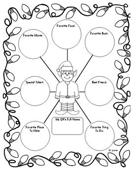 FREE My Elf Creative Writing