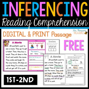 Making Inferences Close Reading Free