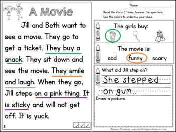 Free Reading Comprehension Passage and Questions - Making Inferences