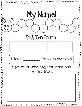 Name Activity (Free)