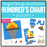 FREE Mystery Picture Hundred's Chart Puzzles ( 3 for free! )