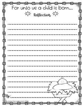 FREE~ NATIVITY REFLECTION