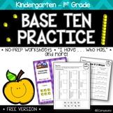 FREE NO-PREP Kindergarten Math -- [Place Value]
