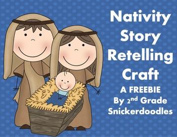 FREE Nativity Story Retelling Craft Project