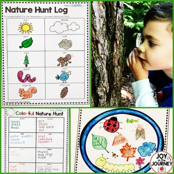 FREE Nature Hunt Activities