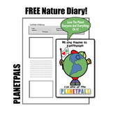 Earthday FREE Nature Diary Distance Learning Outside Insid