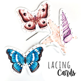 FREE Nature Lacing Cards