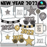 FREE New Year 2021 Clip Art Set {Educlips Clipart}