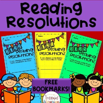 New Year Reading Resolutions: Free Bookmarks