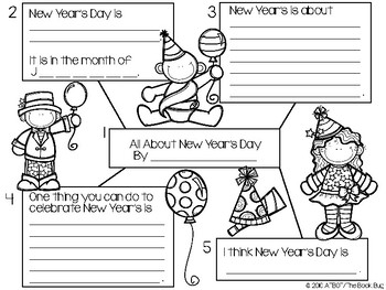 FREE New Year's Day Story Starter