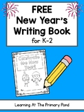 FREE New Year's Writing Book for K-2