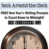New Year's FREE Writing Activity: Prompts to Count Down to