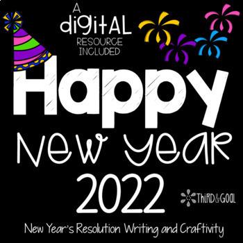 New Year's Resolutions Writing Craftivity