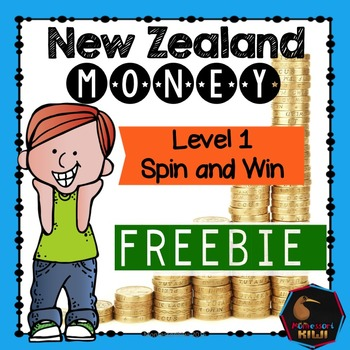 FREE: New Zealand Money level 1: Spin and win