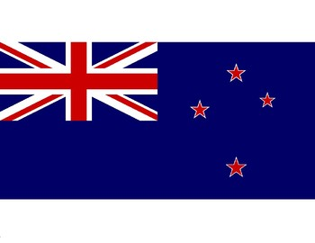 FREE - New Zealand Resources - New Zealand Flag